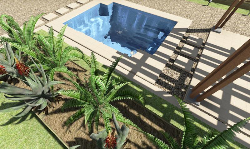 Heated Plunge Spa Splash On Pools